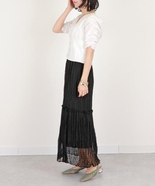 [RANDA] ワッシャープリーツスカート