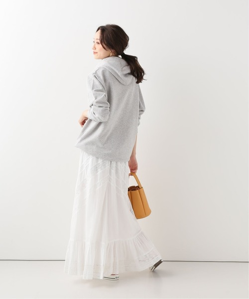 [IENA] 【SARA MALLIKA/サラマリカ】 GAUZE LACE ロングスカート