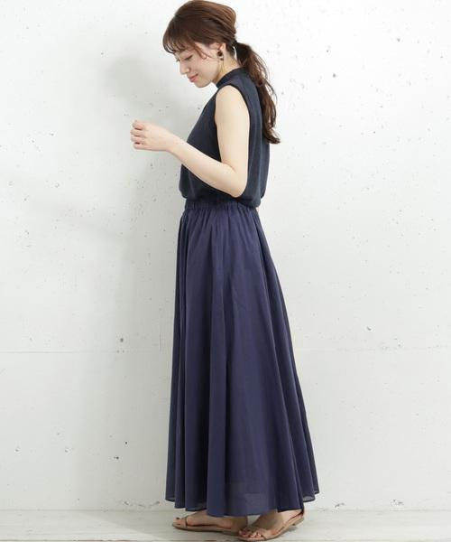 [URBAN RESEARCH] 【WEB限定】エアリーマキシスカート