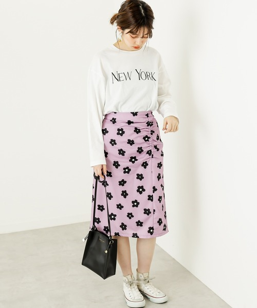 [natural couture] マーガレットレトロスカート