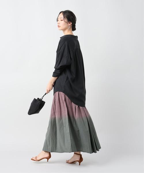 [Plage] 【V DE VINSTER/ヴィ ド ヴァンスター】 TIE DYE スカート◆