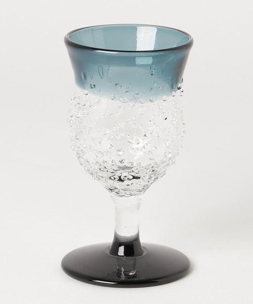 [BEAMS MEN] 北洋硝子 / 津軽 びいどろ 八甲田 ザラメ雪 ワイングラス