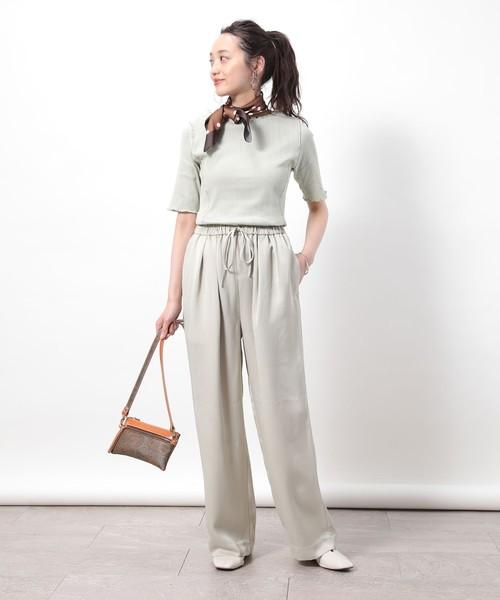 【台湾】7月に最適な服装:パンツコーデ