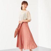 ピンクスカートの夏コーデ【2020最新】大人可愛い最旬の着こなしをチェック♪