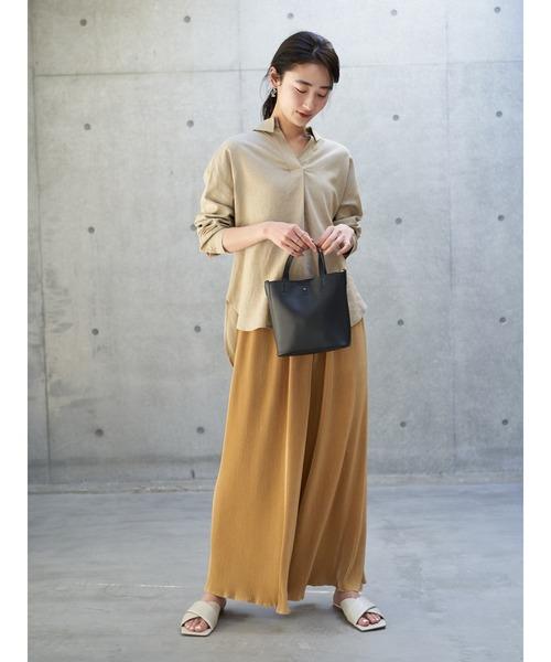 [koe] 【2020春夏】リネンスキッパーシャツ*