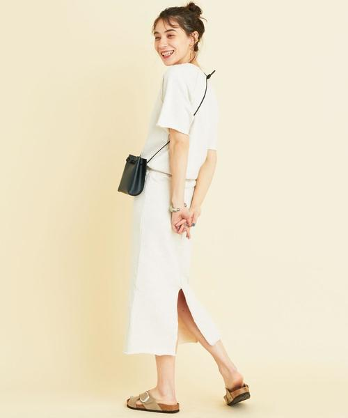 [BEAUTY&YOUTH UNITED ARROWS] 【WEB限定】by ※∴スウェットカットオフワンピース