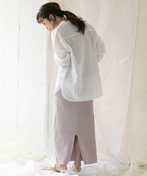 [ITEMS URBANRESEARCH] リブニットタイトスカート