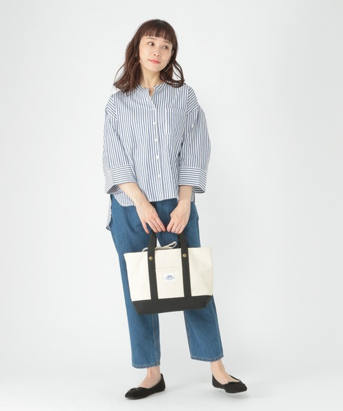 [studio CLIP] ストライプアソートシャツ