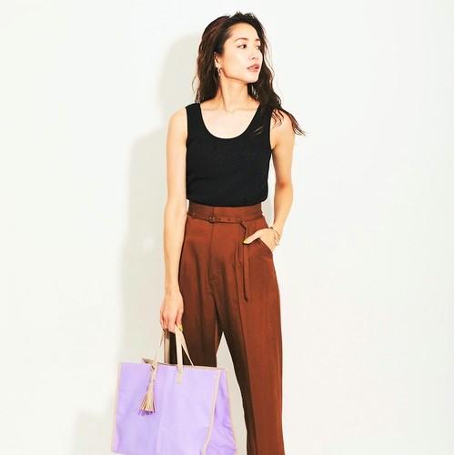 大人女性のシンプルコーデ【2020夏】トレンドを押さえた洗練ファッション術