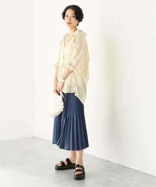 [JOURNAL STANDARD] 【NEU】シアーローンワークシャツ