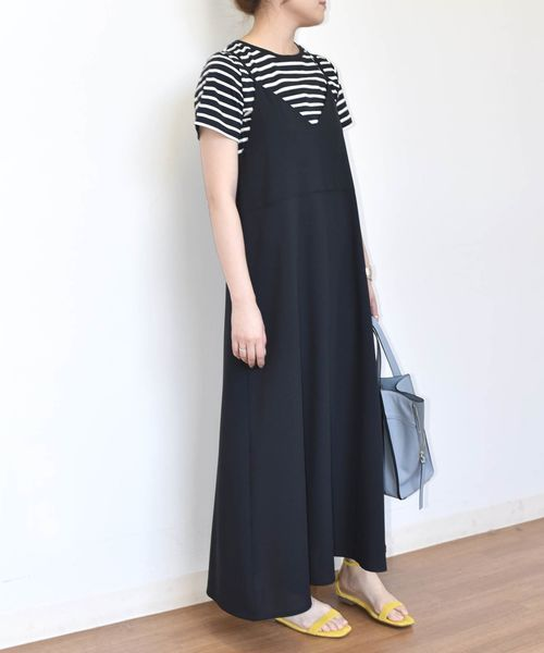 [SHIPS for women] SHIPS any:TEEセットキャミワンピース◆