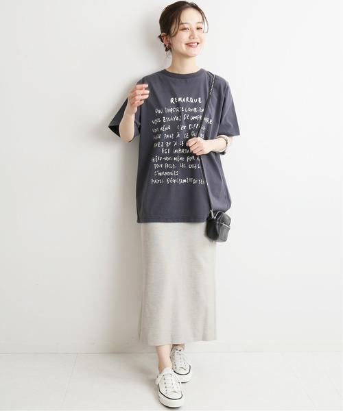 [IENA] ニュアンスカラータイトスカート◆