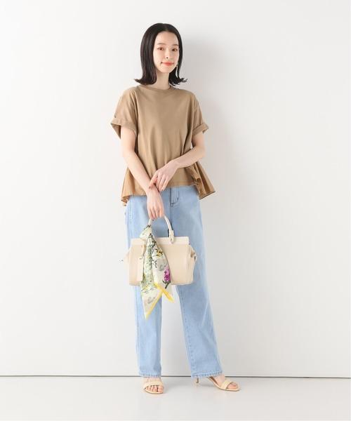 [IENA] 【CLANE/クラネ】 BACK FRILL Tシャツ