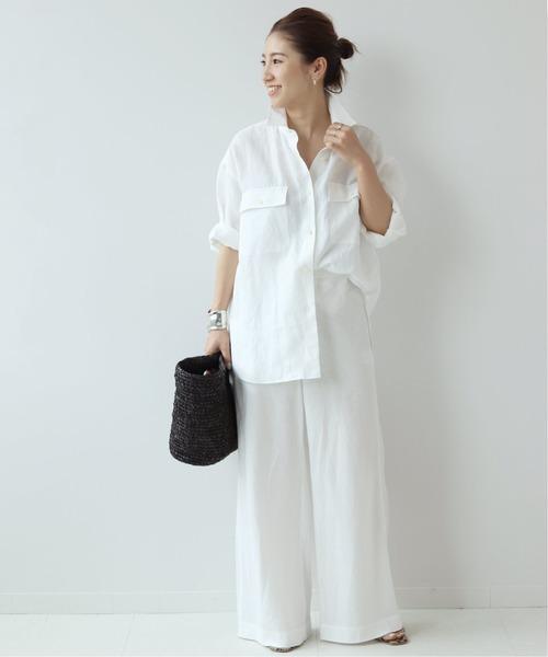 [Plage] *Linen Bias パンツ◆