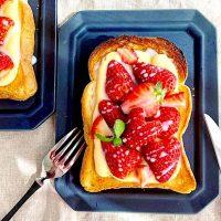 食パンのアレンジレシピ特集!デザート系の甘いトーストを味わおう♪