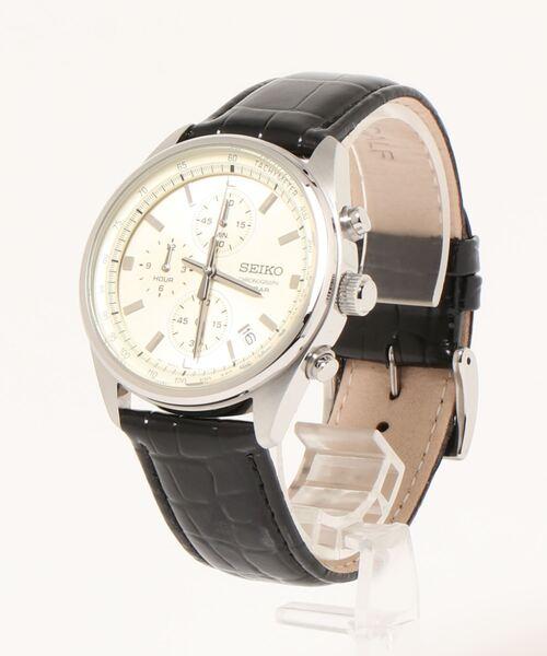レトロな文字盤のアナログ腕時計