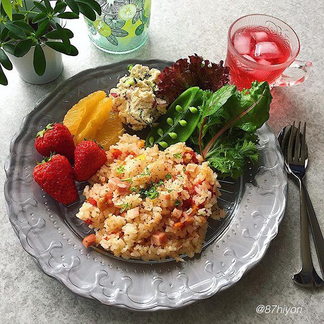 洋風レシピ!炊き込みご飯のおしゃれランチ