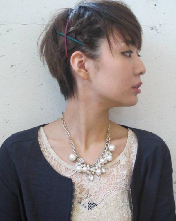 30代に似合うショートのヘアアレンジ3