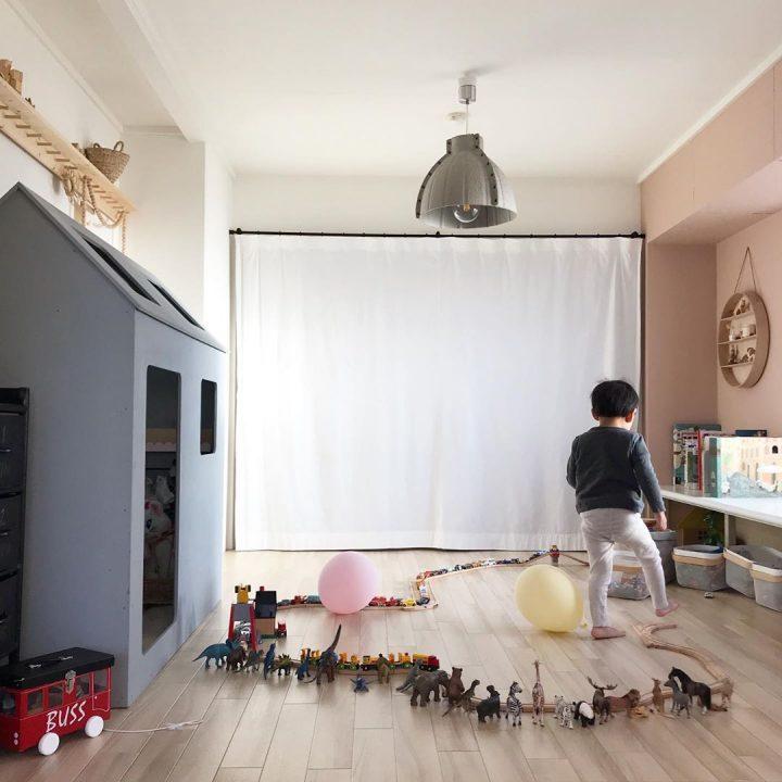 和室をアレンジして、キュートな子ども部屋に変身