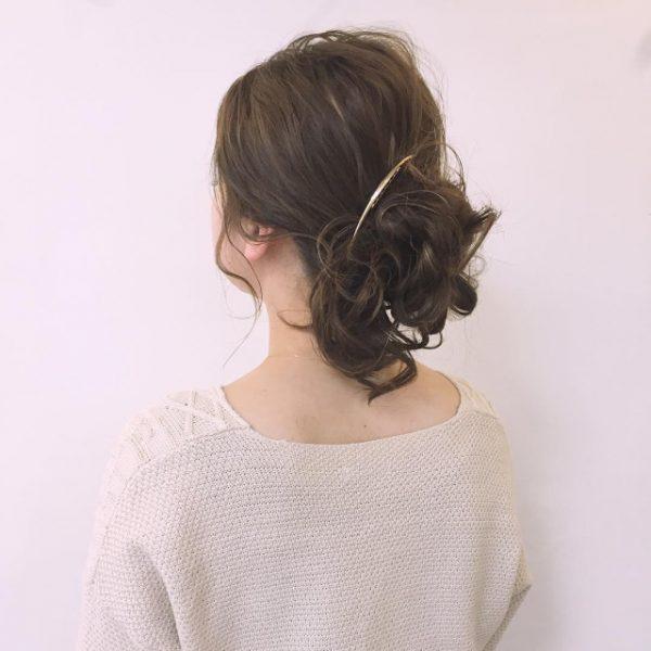 50代に似合う結婚式の髪型《洋装向け》7