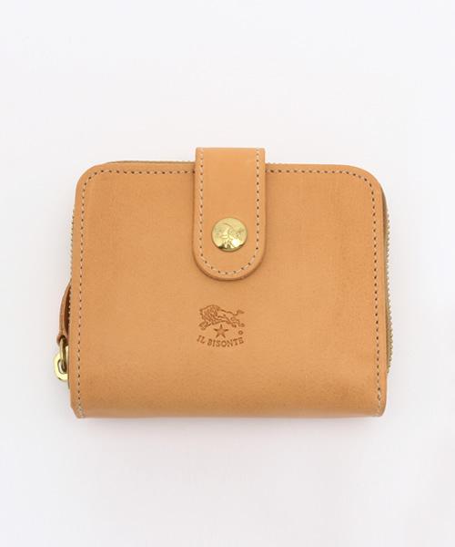 厳選された革の上質感が際立つミニ財布