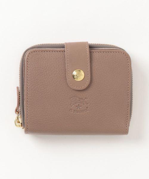 オリジナルレザーの二つ折り財布