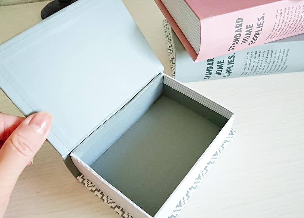 可愛く収納できるブック型