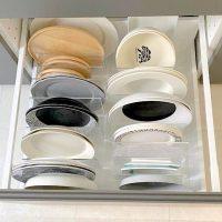 【無印】のアイテムで暮らしを整える!食器棚&カップボード収納アイデア
