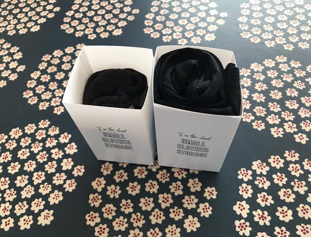 すっきり収納できる靴下収納ケース