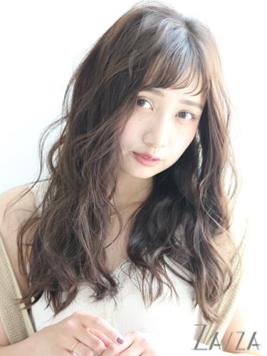 30代におすすめ♡ロング×パーマ(前髪あり)6