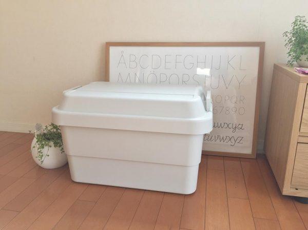 頑丈収納ボックスのクローゼット収納アイデア