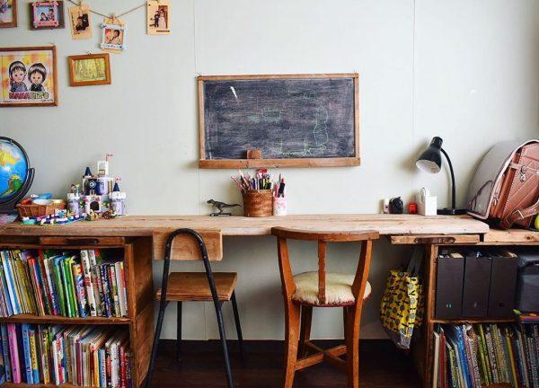 机を作ってモチベアップ