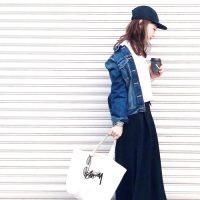 黒キャップコーデ【2020最新】大人女子の垢抜けファッションを季節別にご紹介♪
