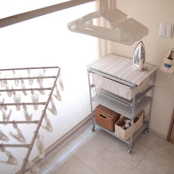 アイロンやミシンができる家事室2