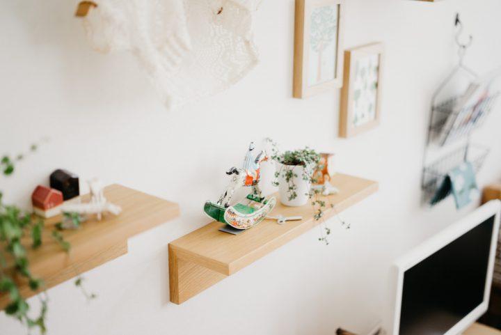 「棚」や「箱」は小さな雑貨の指定席に便利