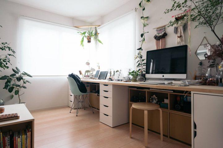 「二人暮らし&お子さんと暮らすお部屋」の家具配置事例