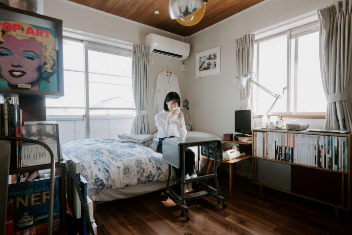 「一人暮らしタイプのお部屋」の家具配置事例cs