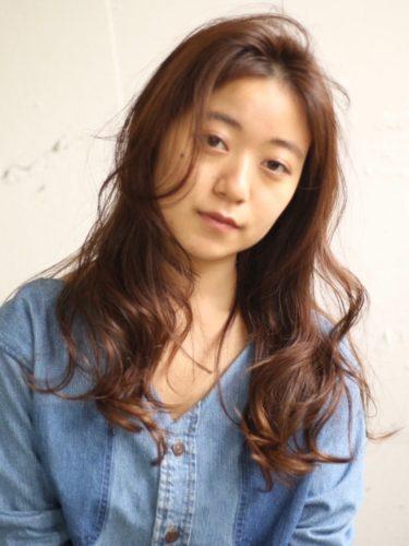 30代におすすめ♡ロング×パーマ(明るめカラー)2