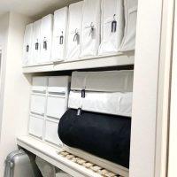 【連載】「無印良品・ニトリ・IKEA」で布団も季節家電もスッキリ!な押し入れ収納♪