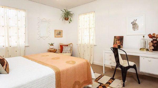 ナチュラル&ボヘミアンな寝室インテリア