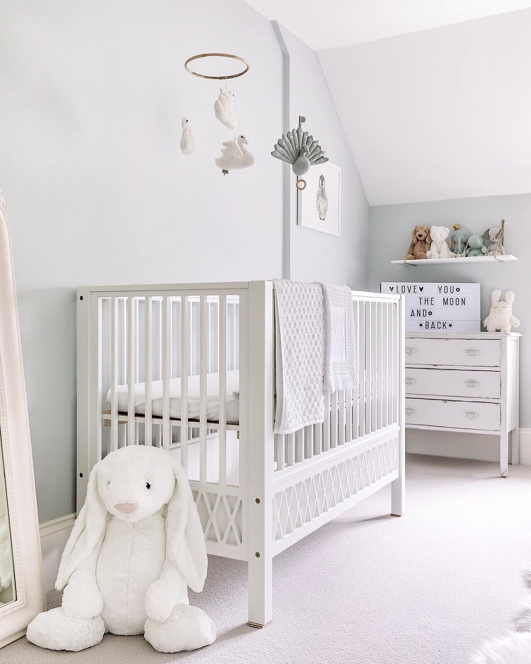 優しさに包まれる赤ちゃん部屋