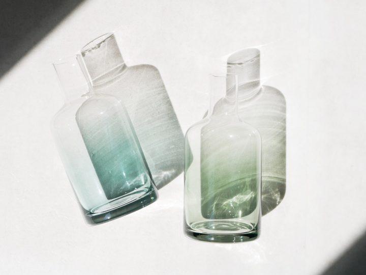 ガラスフラワーベース3