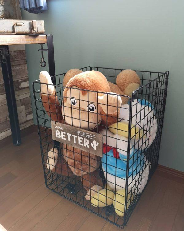 おもちゃ収納 100均 DIY