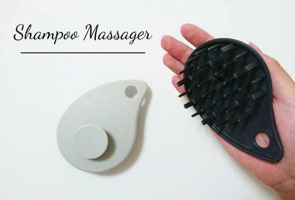 頭皮を心地よく洗えるシャンプーマッサージャー