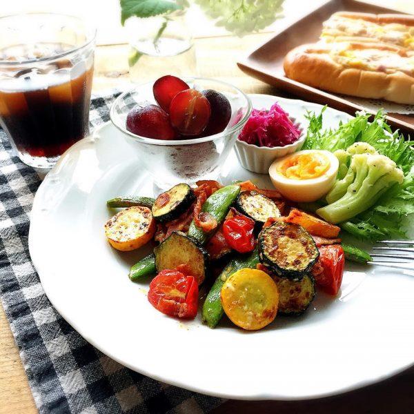 ピーマンと夏野菜のソテー