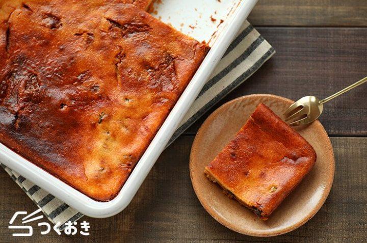 誕生日ケーキに絶品レシピ!キャラメルチーズケーキ