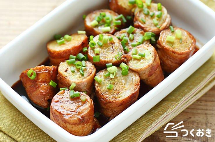 美味しい人気のおつまみ!キャベツの豚バラロール