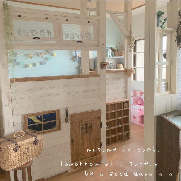 ディアウォールの子供部屋DIY活用アイデア2