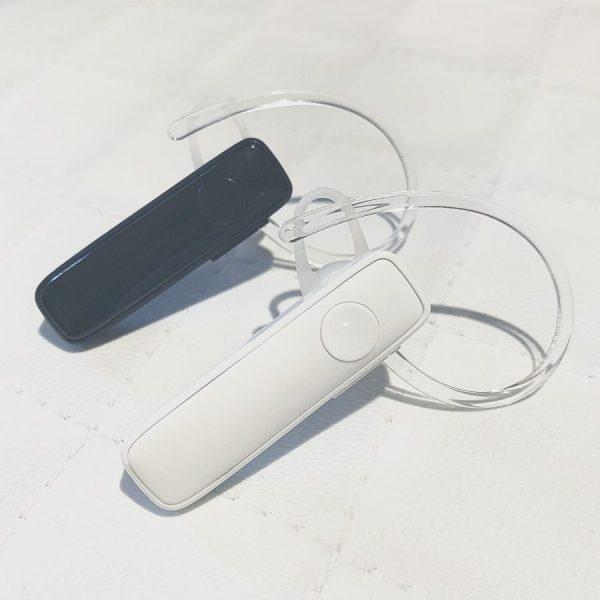ハンズフリー通話もできるBluetoothワイヤレス片耳イヤホン