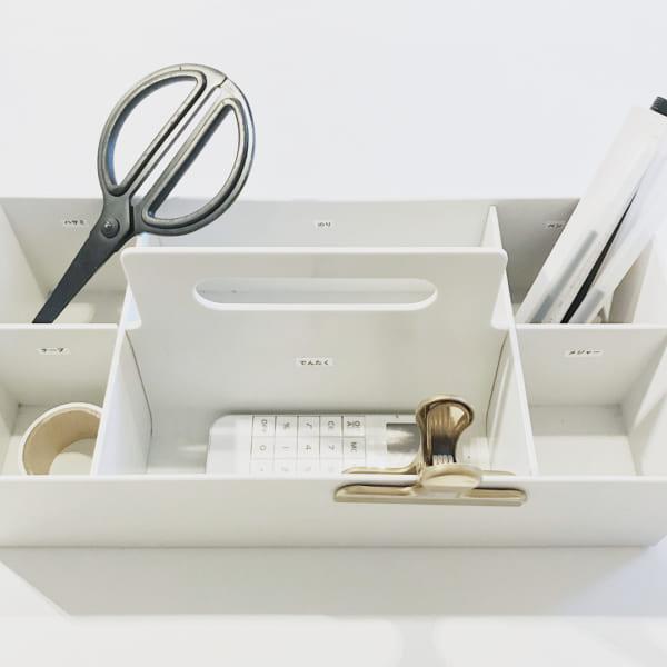 PP収納キャリーボックスでキッズも使いやすい文房具収納